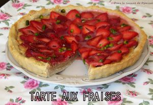 Recette Tarte aux fraises & amande – Vegan