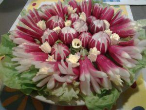 Recette Petits radis roses...tout simplement