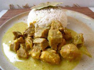 Recette Sauté de veau au curry