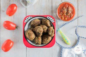 Recette Boulettes d'aubergine à la tomate et aux olives
