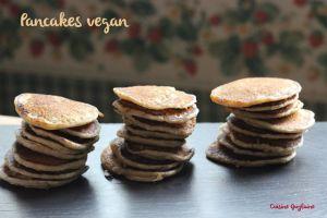 Recette ^^Pancakes vegan^^
