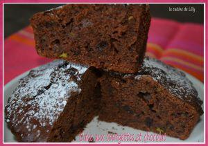 Recette Cake aux courgettes et chocolat