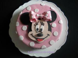 Recette Gâteau Minnie Mouse en pâte à sucre (tutoriel)