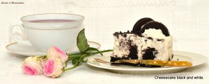 Recette Cheesecake Black and White (cheesecake aux oréos)
