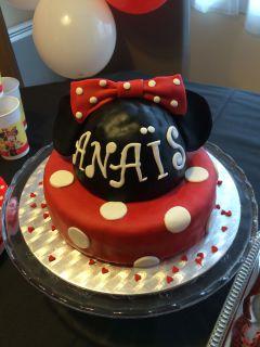 Recette Gâteau d'anniversaire Minnie #2