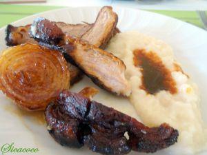 Recette Rouelle de porc caramelisee