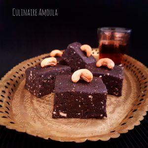 Recette Brownies aux dattes sans cuisson