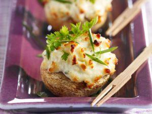Recette Champignons au fromage frais