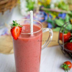 Recette Smoothie à la fraise… Mais pas que