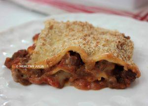 Recette Lasagnes à la bolognaise vegan