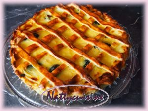 Recette Tarte libouli ou tarte à gros bords