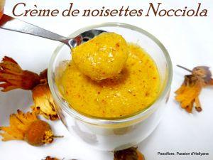 Recette Crème de noisette, pralinée Nocciola