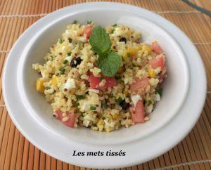 Recette Salade de boulgour et quinoa