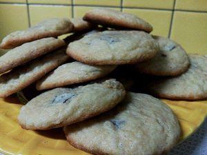 Recette Cookies au chocolat