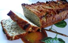 Recette Cake amande, noix de coco, graines de chia (ig bas)