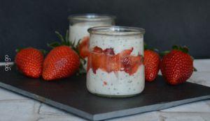 Recette Trifle fraise banane graine de chia