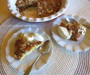 Recette Tarte amandine aux poires et au caramel