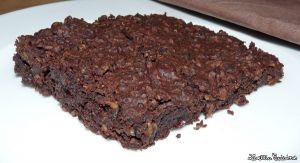 Recette Brownies aux haricots noirs