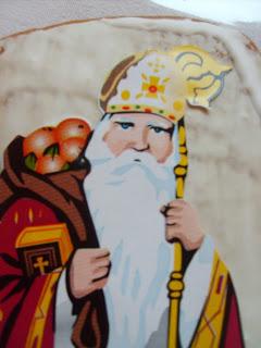 Recette Saint Nicolas en pain d'épice, une recette pour puristes, la pâte mère. Pour des pains d'épices à découper