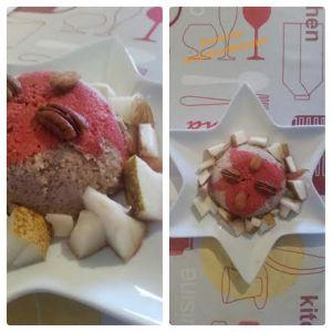 Recette Bowlcake coco/choco/poires