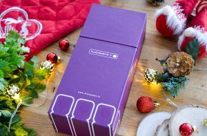 Recette Idée Cadeau de Noël : 6 grands vins au verre pour s'initier à la dégustation avec Flaconwit®