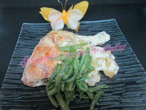 Recette Gratin de cuisses de poulet