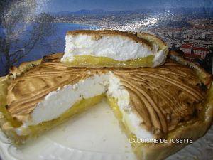 Recette Tarte au citron meringuée (thermomix)