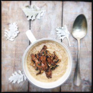 Recette Soupe d'automne: Soupe de champignons