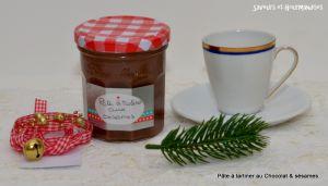 Recette Pâte à tartiner Chocolat & Sésames