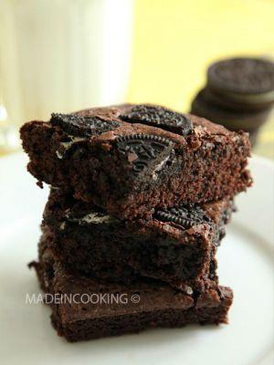 Recette Brownies Oreo®