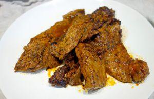Recette Onglet de veau au paprika