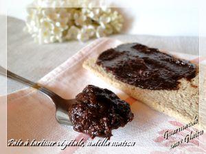 Recette Pâte à tartiner végétale, nutella maison, sans gluten, sans lactose