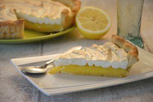Recette Ma tarte au citron meringuée