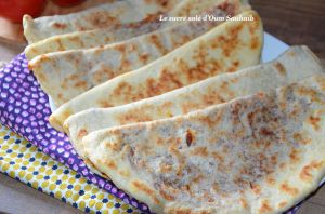 Recette Mtabga, galette farcie tunisienne