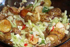 Recette Salade de pommes de terre thaie au celeri