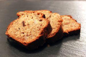 Recette Banana bread au beurre de cacahuètes et aux noix