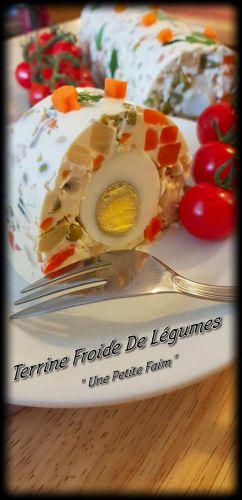 Recette Terrine Froide De Légumes