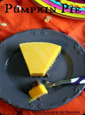 Recette Pumpkin pie – #Vegan
