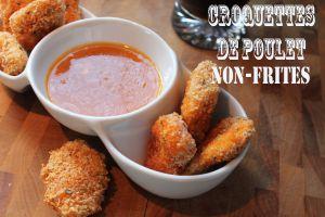 Recette Croquettes (ou nuggets) de poulet, non-frites