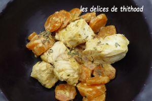 Recette Sauté de poulet aux carottes (escapade en cuisine)