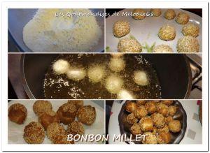 Recette En images : Bonbon millet
