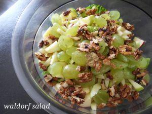 Recette Waldorf salad