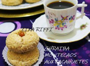 Recette Ghraiba- ghribia- montecaos aux cacahuetes