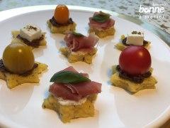 Recette Polenta crostini {petits toasts de polenta pour l'apéro}