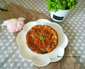 Recette Clafoutis aux courgettes, chèvre et bacon pour un plat d'été savoureux
