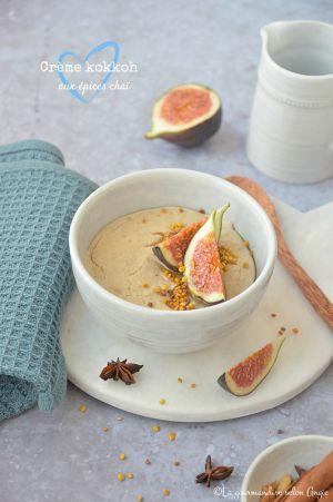 Recette Crème kokkoh aux épices chai #vegan #glutenfree