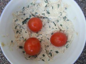 Recette Thon , fromage frais et ciboulette