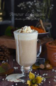 Recette Pumpkin spice latte de STARBUCKS