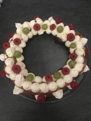 Recette Couronne aux fruits