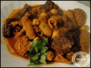 Recette Tripes de mouton en sauce (douara)
